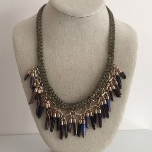 Stella & Dot Bora Fringe Necklace